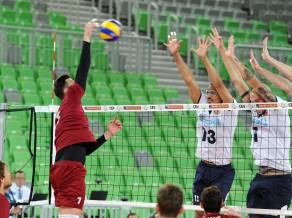 Latvijas volejbolisti otrajā spēlē Portugālē zaudē