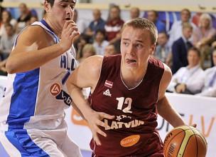 Latvija uzvar trīskārtējo čempioni Horvātiju un tiek tālāk