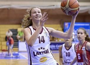 U16 izlase izrauj uzvaru pēdējā sekundē, Liepājā krīt antirekordi