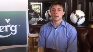 Video: Carlsberg futbola eksperti: I.Koscinkevičs prognozē Euro 2012