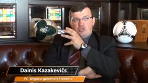 Video: Carlsberg eksperti: D.Kazakevičs par Euro 2012, Krieviju, taktiku