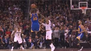 Video: NBA finālsērijas momentos triumfē Durents