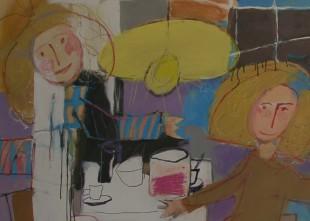 Video: Dailes teātrī apskatāmi Džemmas Skulmes 4 gadu vecumā radīti zīmējumi