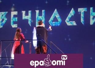 Video: Krāšņa un emocionāla Sniega karaliene Rīgas Krievu teātrī