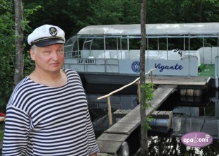 Video: Ar kuģīti pa Daugavu uz veco un jauno Staburagu