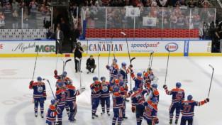 """""""Oilers"""" beidzot atgriežas Stenlija kausā, pārtrūkst """"Red Wings"""" 25 gadu sērija"""