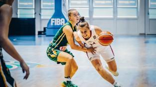 U18 meitenes ar 10 izcilām minūtēm pret Lietuvu nosargā vietu A divīzijā