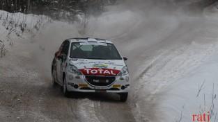 """Solbergs pārsteidz ar rezultātu """"Rally Alūksne"""" testa ātrumposmā"""