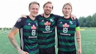 """LFF prezidents Gorkšs futbolista karjeru noslēdz """"Audas"""" kreklā ar zaudējumu"""