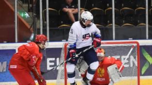 ASV atspēlējas pret Krieviju un uzvar grupā, Kanāda ar 11:1 atvēsina baltkrievus