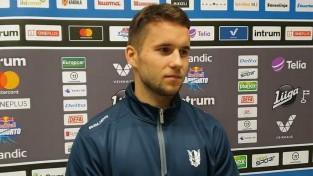 Dzierkals pēc pirmā treniņa secina, ka Somijā ir ātrs hokejs