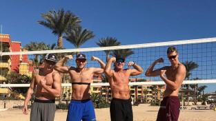 G. Samoilova audzēkņi Ēģiptē sāk gatavoties olimpiskajām spēlēm