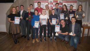 Krauklis un Romanova nosaukti par gada labākajiem badmintonistiem