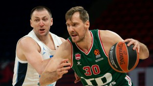 """Kurucs spēlē gandrīz visu pirmo ceturtdaļu, """"Baskonia"""" mājās zaudē """"Zenit"""""""