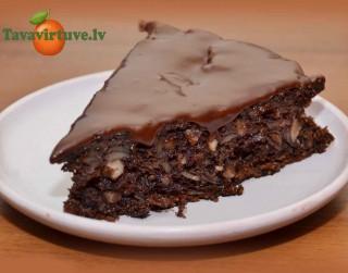 Fotorecepte: Kartupeļu kekss ar kakao soli pa solim