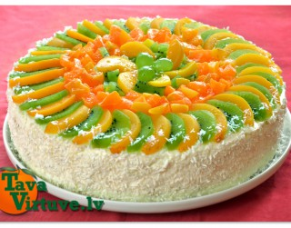 Fotorecepte: Biezpiena torte soli pa solim
