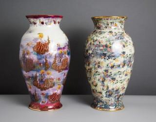 """Rīgas Porcelāna muzejs aicina uz Ineses Brants izstādi """"Reciklējot RPR"""""""