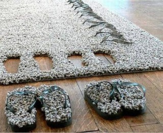 Foto: Tas ir jāredz. Kreatīvi paklāji ar izdomu