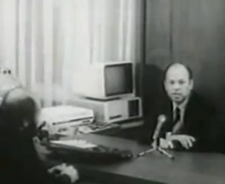 Video: Neticami. Alfrēda Rubika kabinetā dators bija jau Padomju laikos