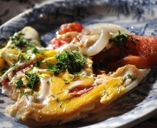 Brokastīs omlete lietuviešu gaumē