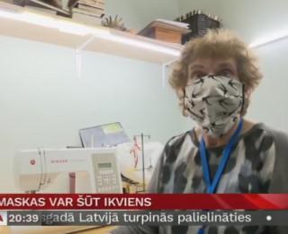 Video: Sejas maskas var šūt ikviens