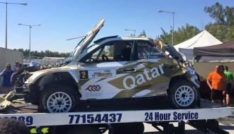 Foto: Debija ar jauno auto beidzas ar pamatīgu avāriju