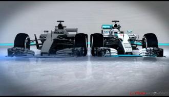 Foto: Kā F1 mašīnas izskatīsies 2017. gadā?