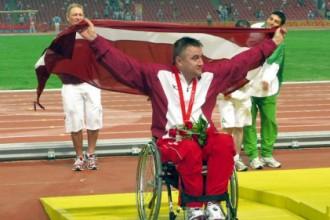 Latvijas paralimpieši neziņā par iespējām startēt Riodežaneiro spēlēs