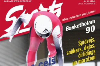 """Iznācis žurnāla """"Sports"""" novembra numurs"""