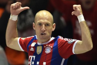 """""""Bayern"""" iesit četrus vārtus 13 minūtēs un atkal uzvar"""