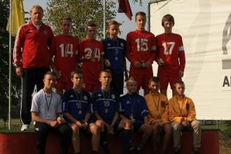 Kurzemes U-13 futbolisti uzvar LMT Futbola akadēmijas reģionālo izlašu rudens turnīrā
