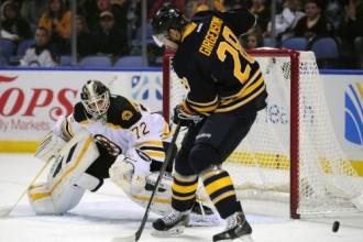"Girgensons un ""Sabres"" atkal sausā - 0:4 pret ""Bruins"""