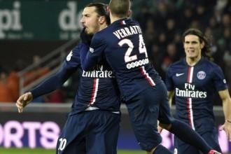 """PSG panāk Marseļas """"Olympique"""", """"Metz"""" noslīd uz pēdējo vietu"""