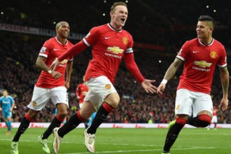 """Rūnijs nokārto sarežģītu """"Manchester United"""" uzvaru"""