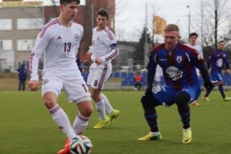 """""""Jelgava"""" pārbauda Turkovu un izrauj uzvaru pār U18 izlasi"""