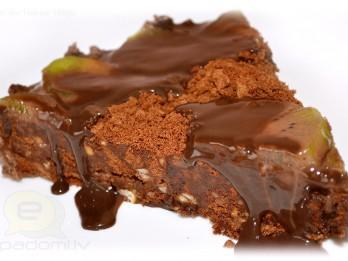 Fotorecepte: kakao un riekstu torte soli pa solim