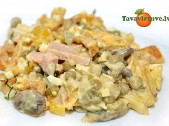 Fotorecepte: kartupeļu salāti