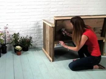 """Video: """"Dremel"""" videopadomi. Kā viegli pagatavot soliņu lodžijai vai dārzam?"""