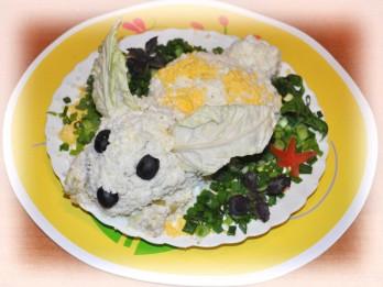"""Salāti """"Lieldienu zaķis"""""""
