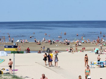 Tūristu skaits Jūrmalā pirmajā pusgadā pieaudzis par trešdaļu