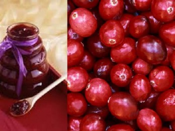 Imunitāti spēcinošs dzērveņu, ķiploku un medus maisījums