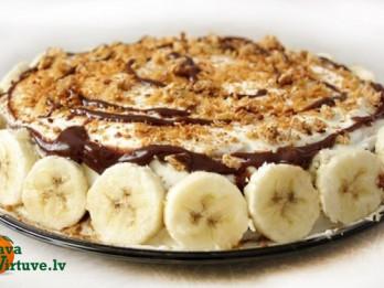 15 minūtēs pagatavojama banānu kūka