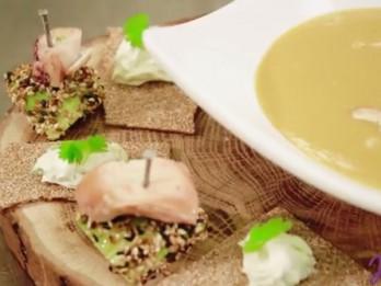 Video: Videorecepte - dārzeņu biezzupa ar ingveru un kokosa pienu (recepte)