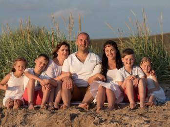 """Piecu bērnu tēvs: """"Bērni cilvēkam liek kļūt labākam"""""""