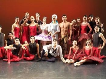Latvijas Nacionālā baleta solisti atgriezušies no galā koncertiem Dienvidkorejā