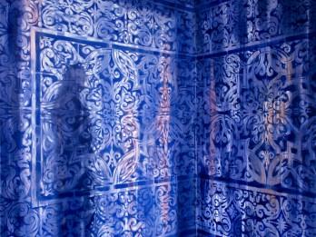 Ditas Lūses glezna ceļos uz Japānu