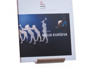 """""""Neputna"""" sērijā """"Studijas bibliotēka"""" iznāk grāmata par Maiju Kurševu"""