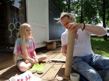 """Ģimenes ar bērniem aicina svinēt svētdienas kultūrtelpās """"Stropi"""""""
