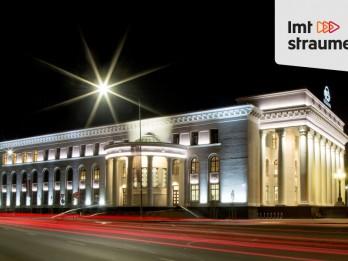 """ŠOBRĪD TIEŠRAIDĒ: VEF Kultūras pils atklāšanas koncerts """"Latvija – tava un mana"""""""