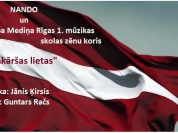 Video: Guntars Račs un Jānis Ķirsis svētkos dāvina jaunu dziesmu VIENKĀRŠAS LIETAS